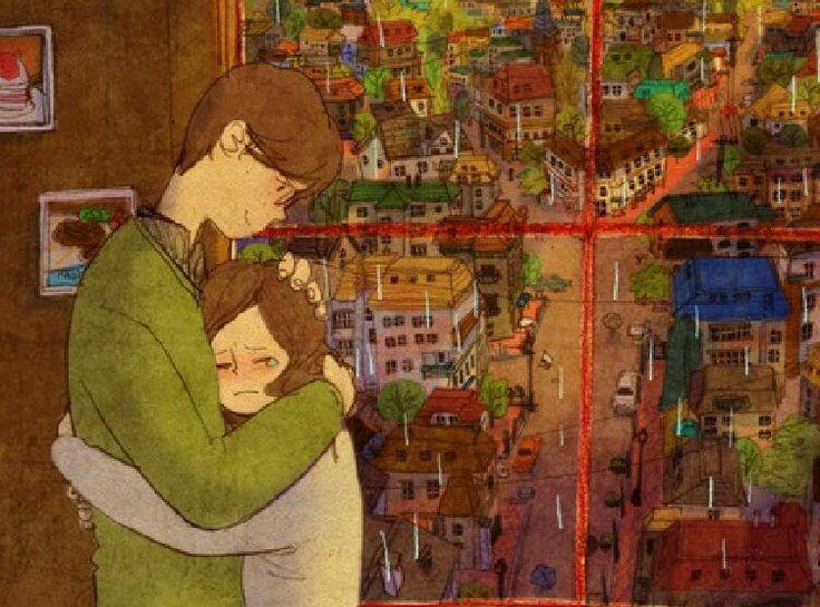 """Nada mejor que uno de esos abrazos con sabor a: """"estoy contigo"""""""